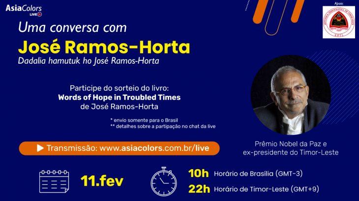 Uma conversa com José Ramos-Horta